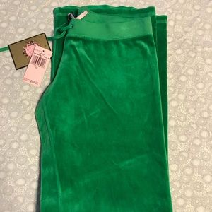Green Juicy Couture pants M